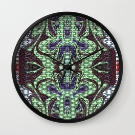 Abstract Butterfly Wall Clock