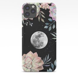 succulent full moon 4 iPhone Case