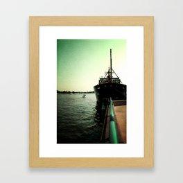 Coast Guard Festival Ship Framed Art Print