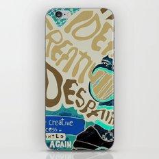 THE CREATIVE PROCESS iPhone & iPod Skin