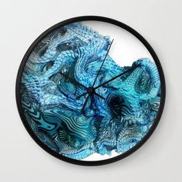 Life On Other Planets Wall Clock