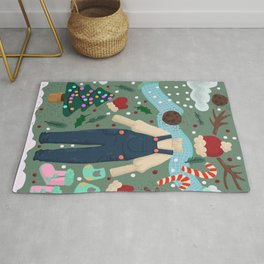 Winter fashion Rug