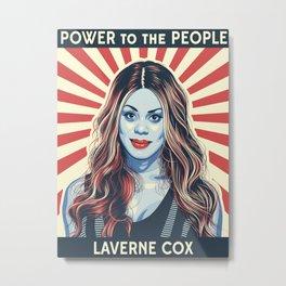 Laverne Cox Metal Print