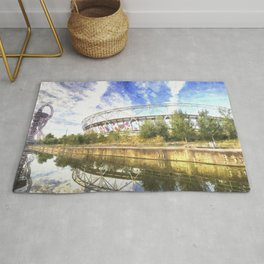 West Ham Olympic Stadium Art Rug