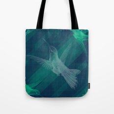 Flight of the Hummingbird Tote Bag