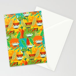 Watermelons and carrots Stationery Cards