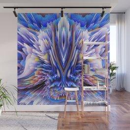blue flower Wall Mural