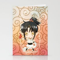 chibi Stationery Cards featuring Chibi Ashura by Neo Crystal Tokyo