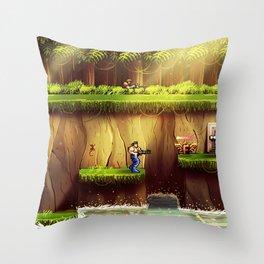 Contra Throw Pillow