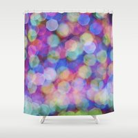 focus Shower Curtains featuring Focus by BearClauseDesigns