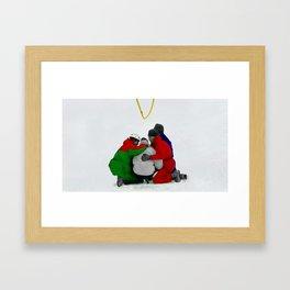 The Rescue III Framed Art Print