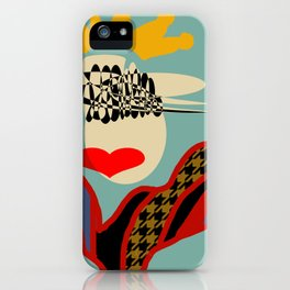 QUEEN OF STYLE iPhone Case
