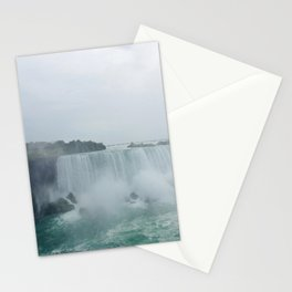 Foggy Waterfall Stationery Cards