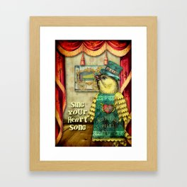 Heart Song Framed Art Print
