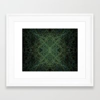 trippy Framed Art Prints featuring Trippy by writingoverashes