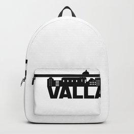 Valladolid Spain Skyline Gift Idea Backpack