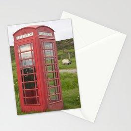 Phone box on the Isle of Skye Stationery Cards