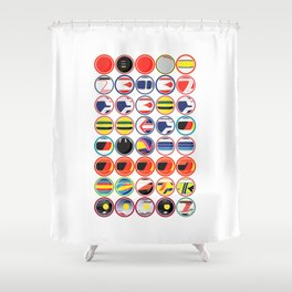 The Chain Shower Curtain