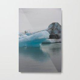Just the Tip of the Iceberg Metal Print