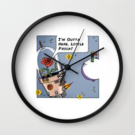 Le Petit Prick Wall Clock