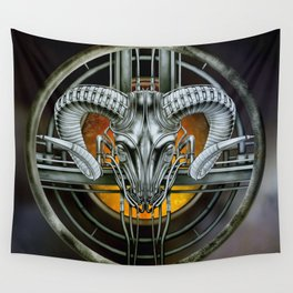 """""""Astrological Mechanism - Aries"""" Wall Tapestry"""