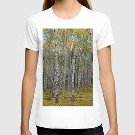 Trembling Aspen's in the Fall, Jasper National Park T-shirt