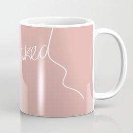 Get naked Pink Coffee Mug