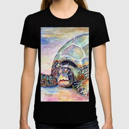 Turtle at Poipu Beach T-shirt