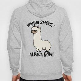 Wanna Smoke Alpaca Bowl Hoody