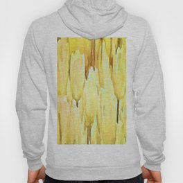 Pale Yellow Tulips Abstract Floral Pattern Hoody