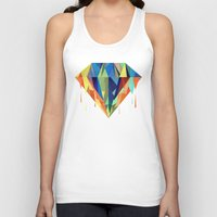 diamond Tank Tops featuring Diamond by By Nordic
