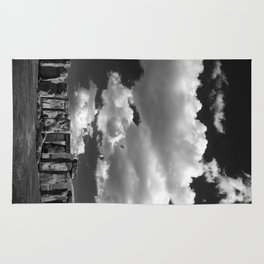 Stonehenge - B&W Rug
