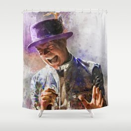 Gord Downie Shower Curtain