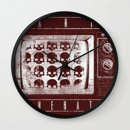 Panic Generator Wall Clock