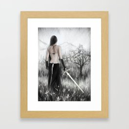 Once Innocent Framed Art Print