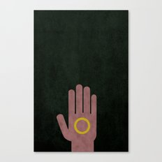 Lord of the Rings Minimalist Posters: Fellowship Canvas Print