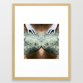 Listening Earth Framed Art Print