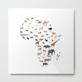 Wild Africa Metal Print