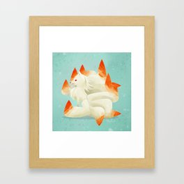 038 Ninetales Framed Art Print