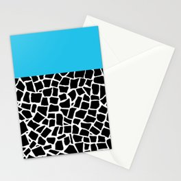 British Mosaic Electric Boarder Stationery Cards
