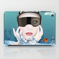 3d iPad Cases featuring 3D by mark ashkenazi