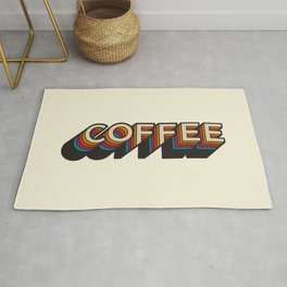 Trippy Coffee Rug