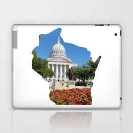 Beautiful Capitol Building in Wisconsin Laptop & iPad Skin