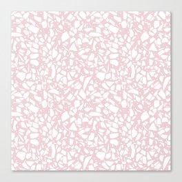 Terrazzo Spot 2 Blush Canvas Print