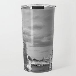 Eiffel Tower Black & White Travel Mug