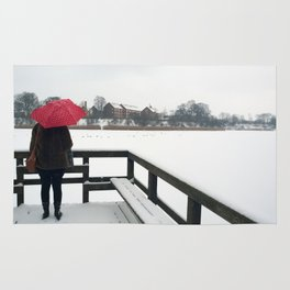 Copenhagen - Red Umbrella Rug
