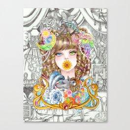 Prisila Canvas Print