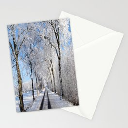 Winter-avenue Stationery Cards
