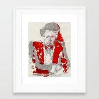 anchorman Framed Art Prints featuring Anchorman by Gabriel Cohen