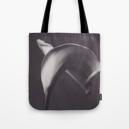Calla lily photo, fine art, flowers photography, flower still life, wall decor, Robert Mapplethorpe Tote Bag
